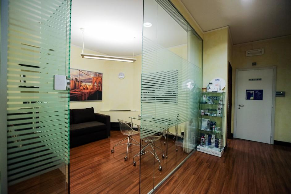 Gli altri uffici e zona spogliatoi studio dentista for Uffici zona eur